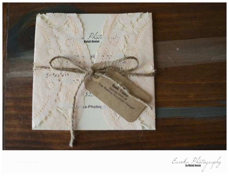 How to Make Your Own Wedding Invitations How to Make Your Own Wedding Invitation Rustic Vintage
