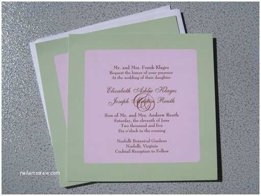 How to Make Your Own Wedding Invitations Inexpensive Make Your Own Wedding Invitations How to Do