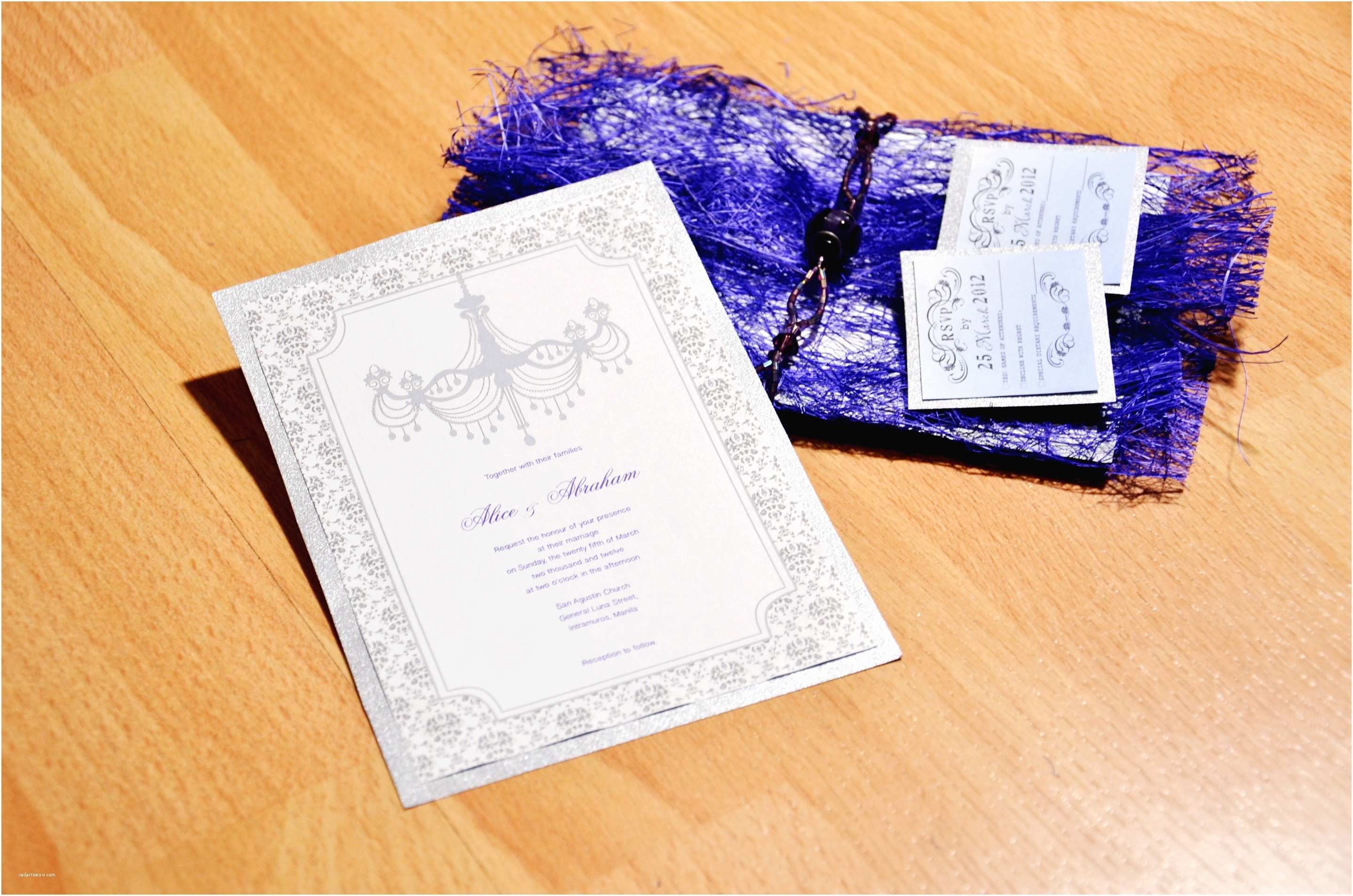 How to Make Your Wedding Invitations at Home 3 Ways to Make Cheap Homemade Wedding Invitations Wikihow