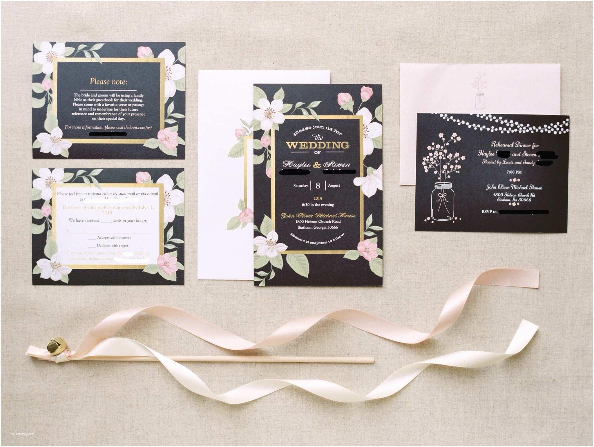 How to Make Your Wedding Invitations at Home Einzigartig Vistaprint Einladungskarten Goldene Hochzeit