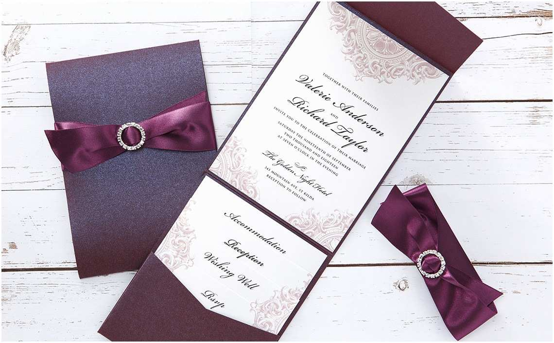 How to Make Your Wedding Invitations at Home Handmade Wedding Invitations Sansalvaje
