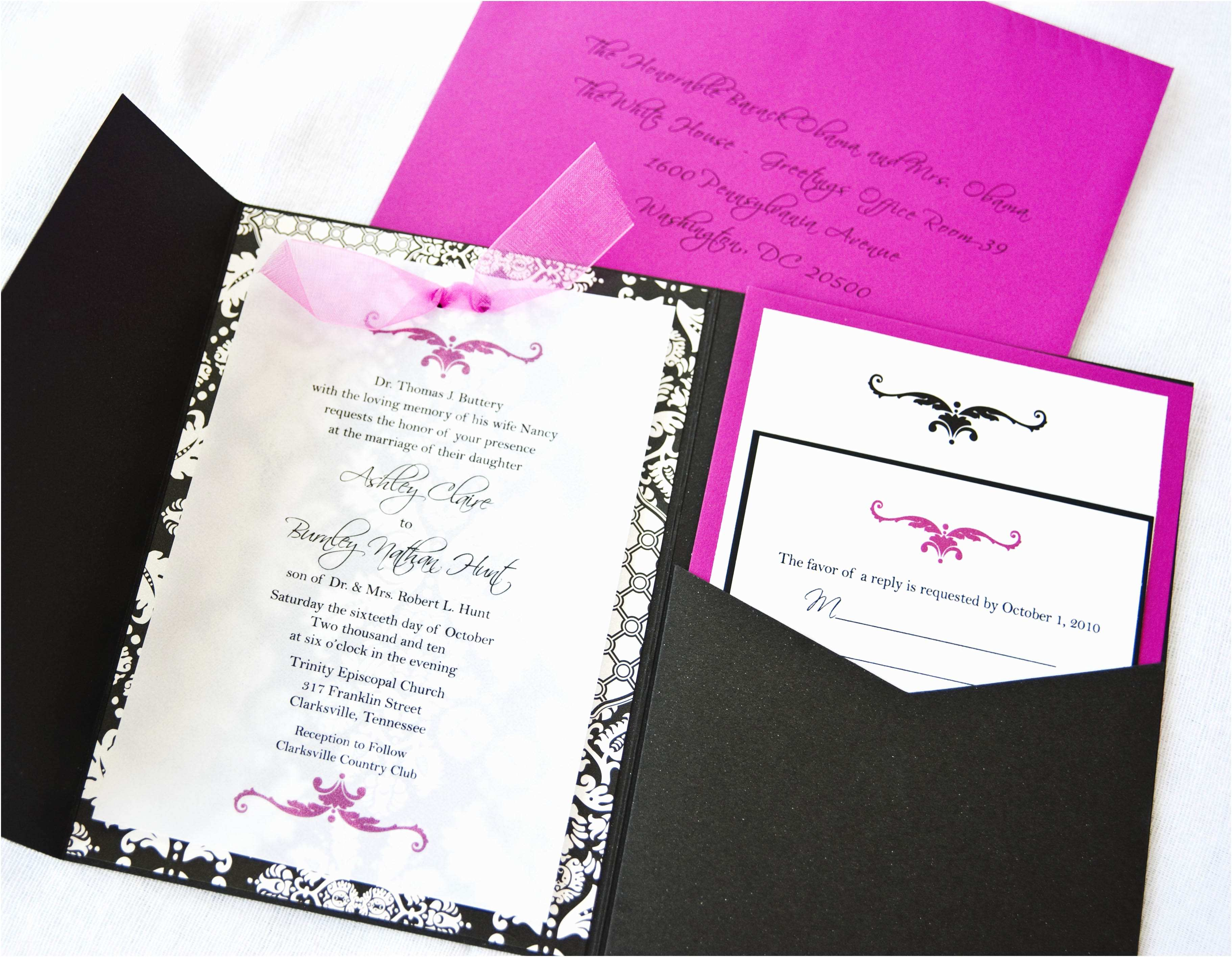 How to Make Your Wedding Invitations at Home How to Make Wedding Invitations