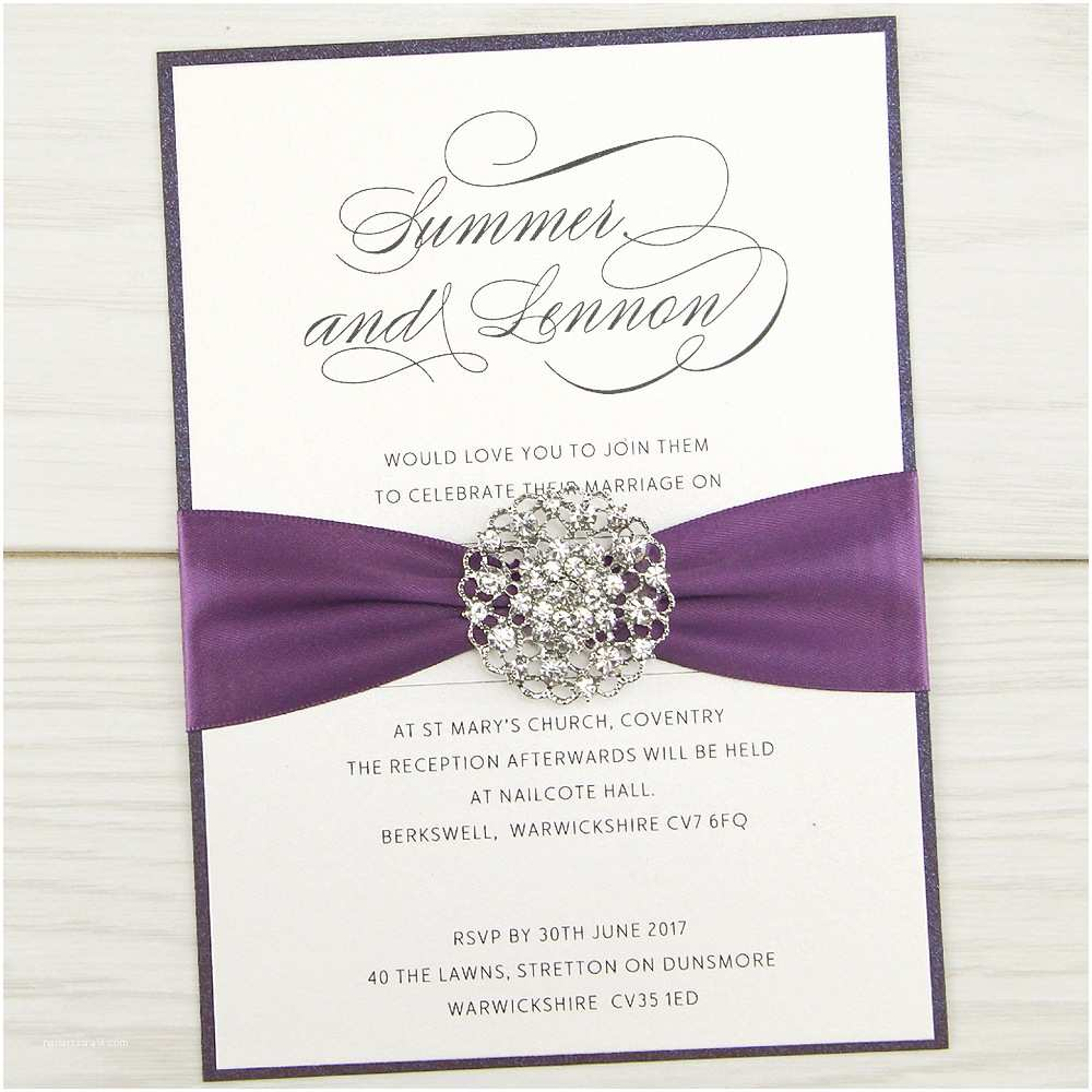 How to Make Your Wedding Invitations at Home Violet Parcel