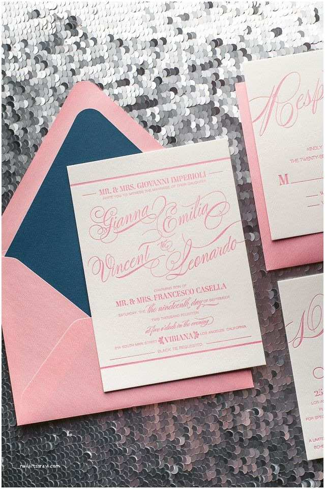 How to Package Wedding Invitations Gianna Suite Styled Romantic Package