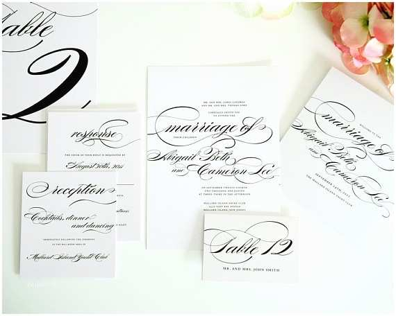 How to Package Wedding Invitations Plete Wedding Invitation Package Branded by