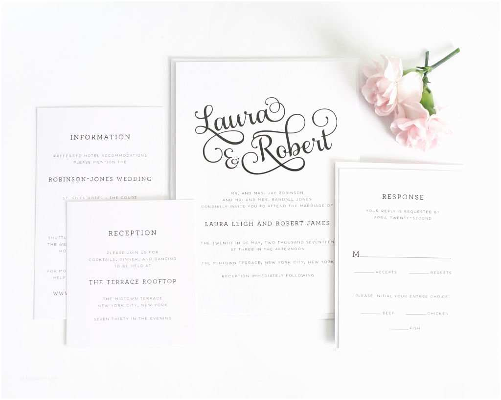 How to Package Wedding Invitations Sweet Romance Wedding Invitations Wedding Invitations by