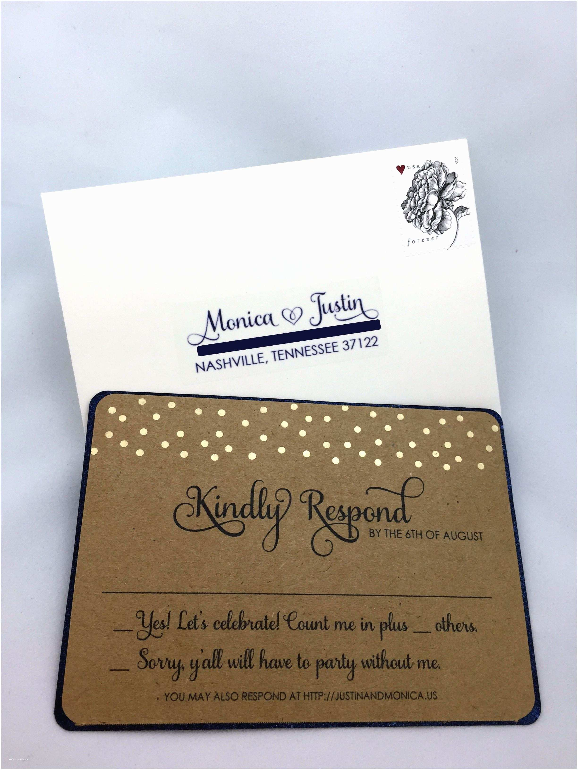 How to Package Wedding Invitations Wedding Invitations with Rsvp Cards Included Wedding