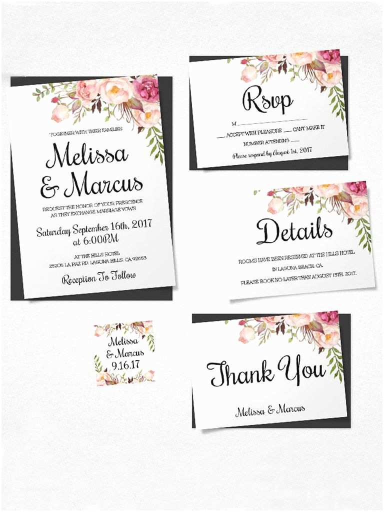 How To Print Out Wedding Invitations 16 Printable Wedding Invitation Templates You Can