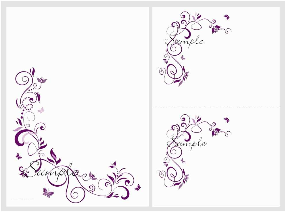 How To Print Out Wedding Invitations Butterfly Invitations