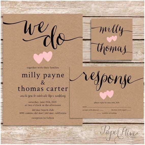 How To Print Out Wedding S Rustic Wedding  Printable Wedding