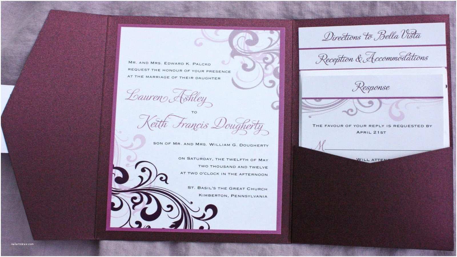 How to Print Wedding Invitations How to Make Wedding Invitations