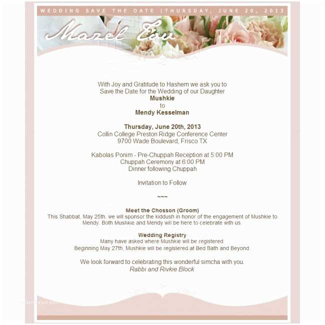 How to Send Wedding Invitations by Email Contoh Wedding Invitation Via Email Contoh War