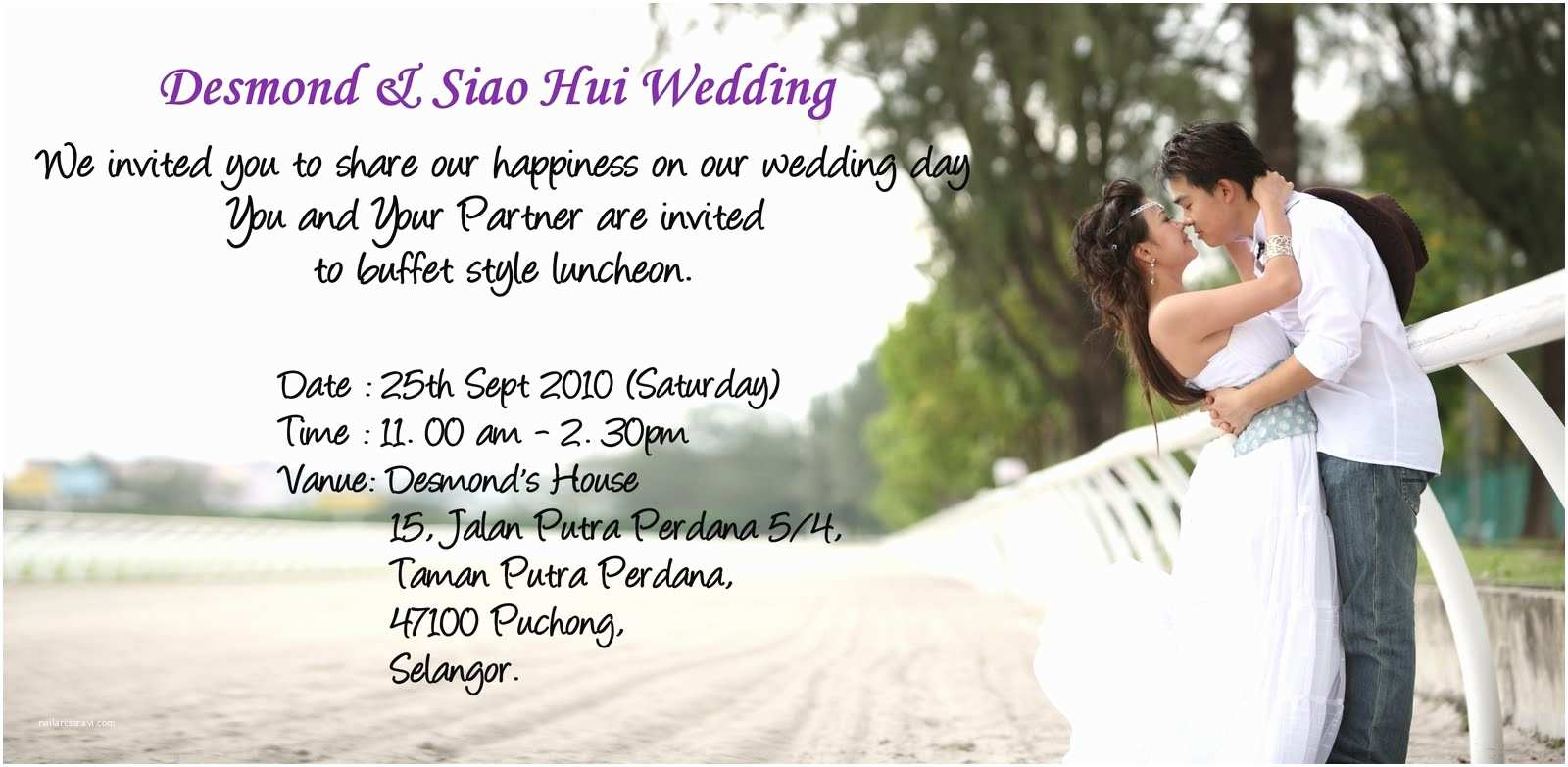 How to Send Wedding Invitations by Email Free Electronic Invitations