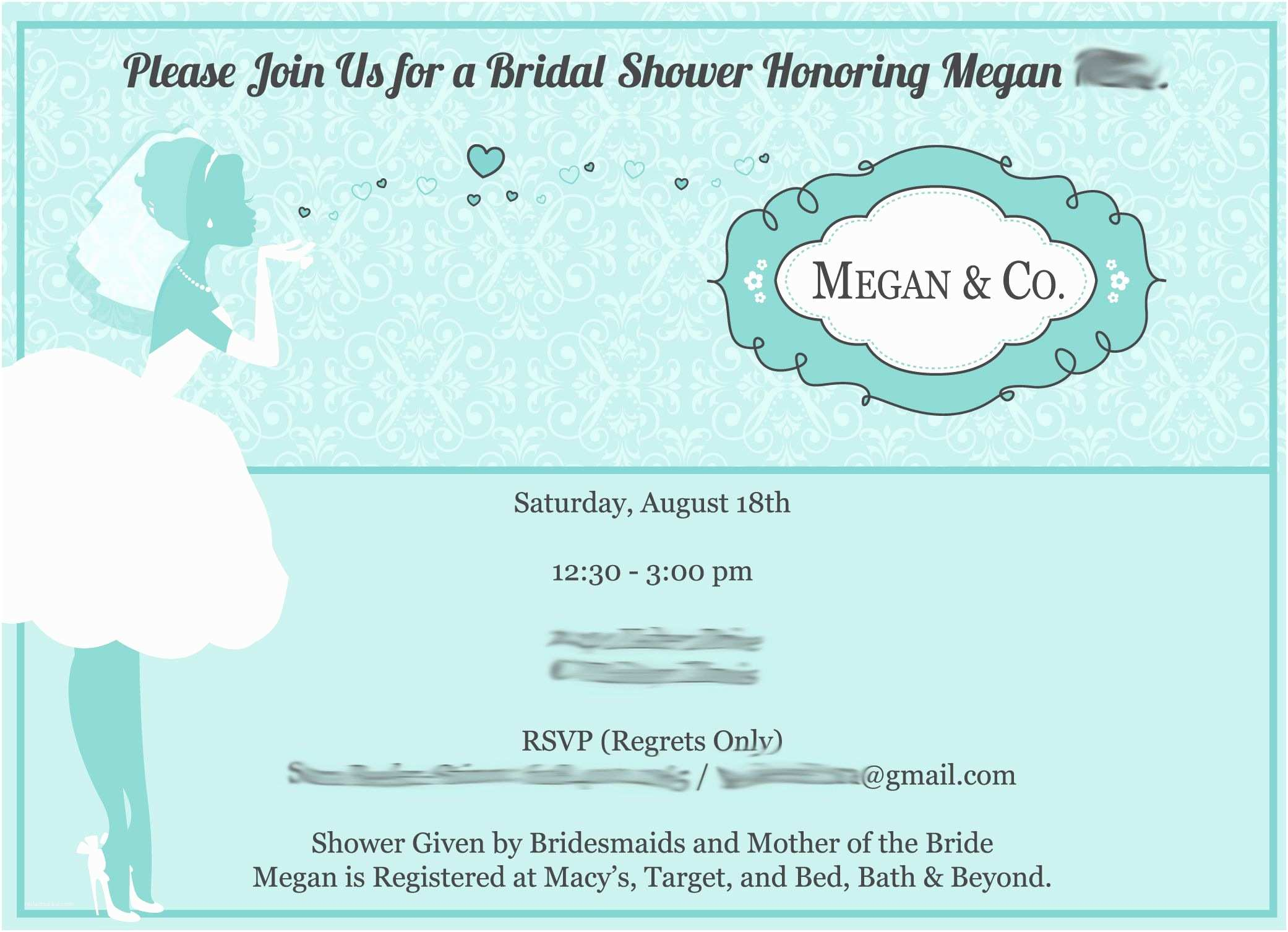 How to Word A Wedding Shower Invitation asking for Money Bridal Shower Invitation Verbiage Bridal Shower