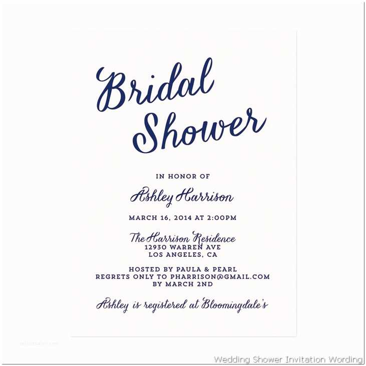 How to Word A Wedding Shower Invitation asking for Money Bridal Shower Invitation Wording