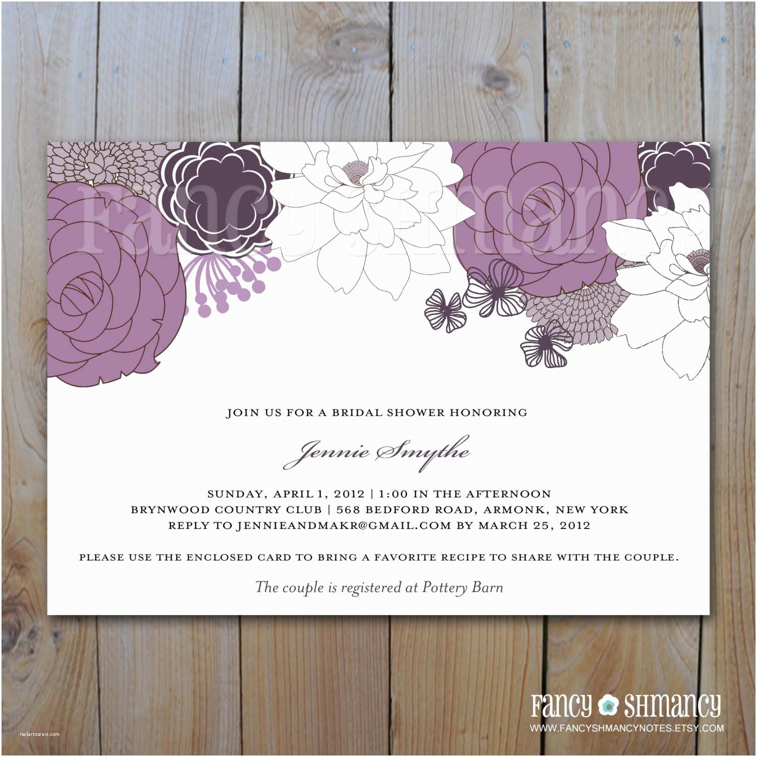 How to Word A Wedding Shower Invitation asking for Money Bridal Shower Invitations Bridal Shower Invitations