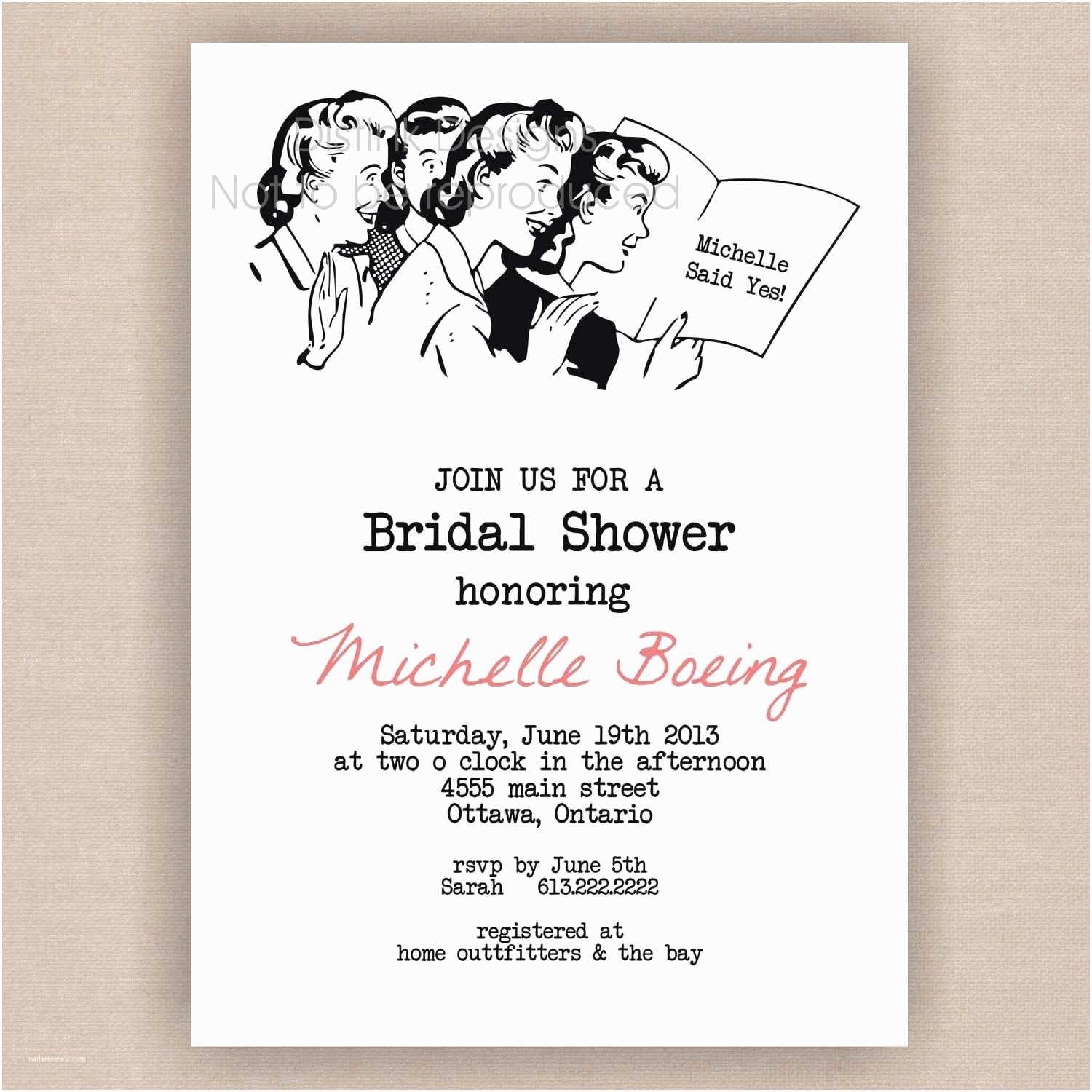How to Word A Wedding Shower Invitation asking for Money Invitation Wording Idea