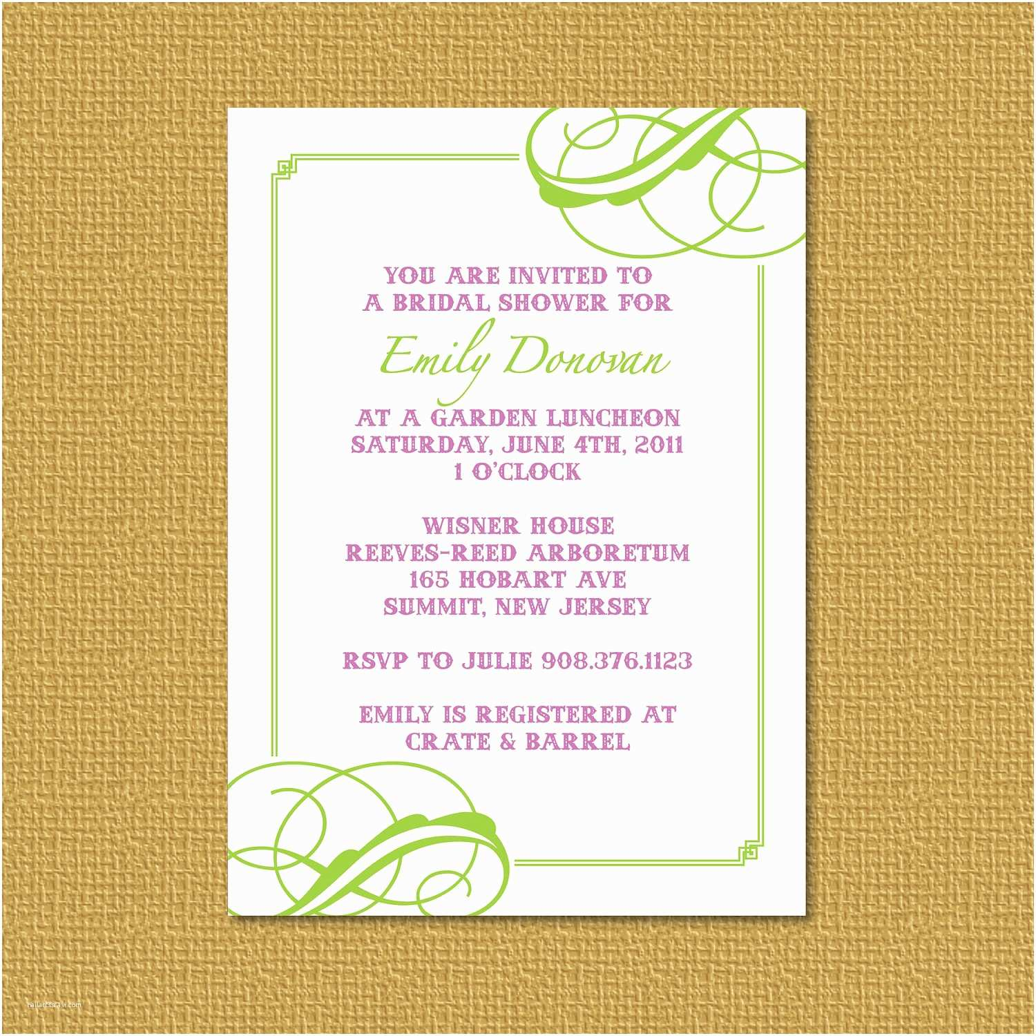 How to Word A Wedding Shower Invitation asking for Money Invitation Wording No Wrapping Paper Choice Image