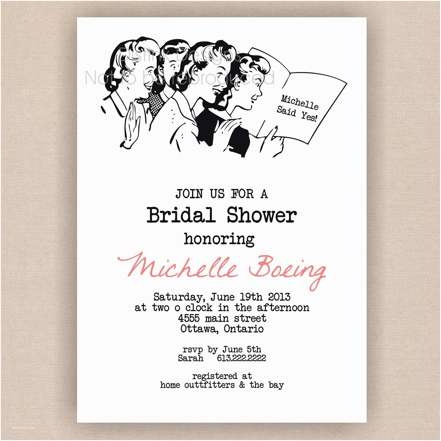 How to Word A Wedding Shower Invitation asking for Money Tar Bridal Shower Invitations Template