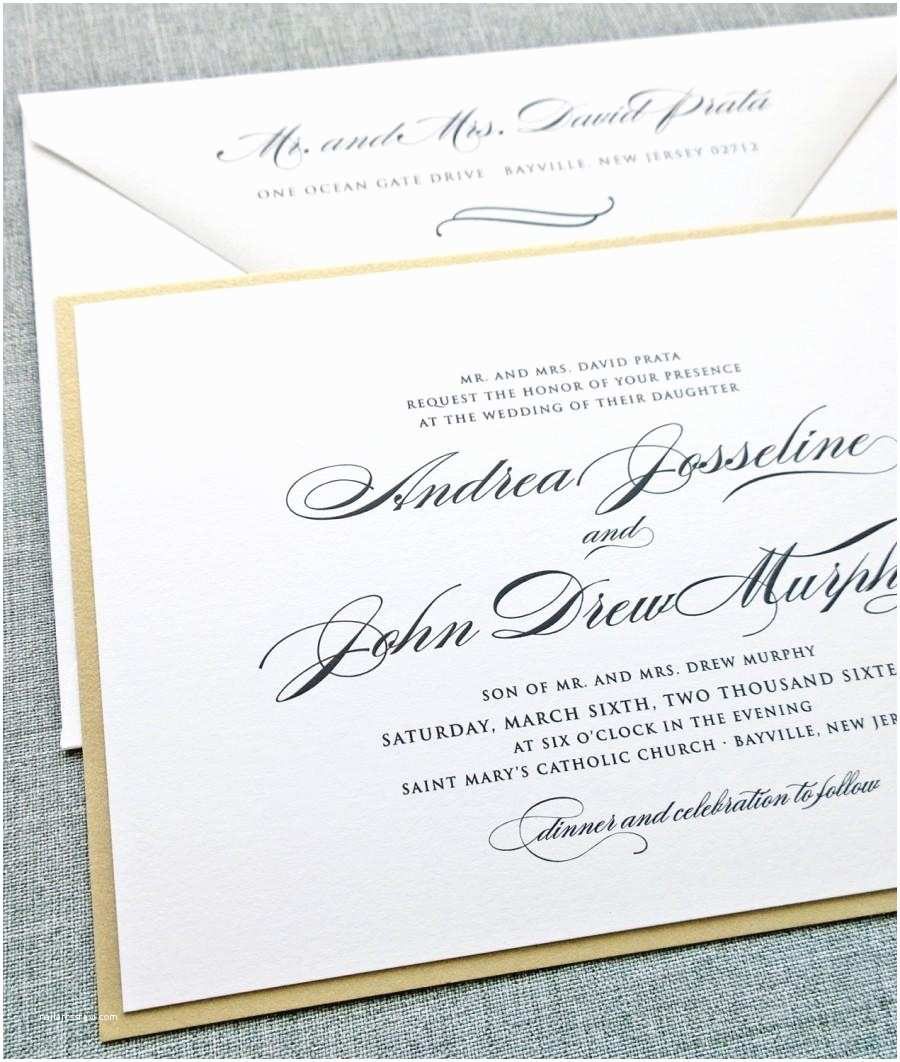 How to Word formal Wedding Invitations formal Wedding Invitation Wording – Gangcraft