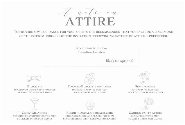 How to Word formal Wedding Invitations New Wedding Invitation Wording attire