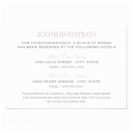 How to Word Hotel Accommodations for Wedding Invitations Best 25 Ac Modations Card Ideas On Pinterest