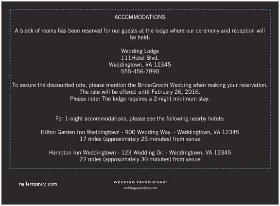 How to Word Hotel Accommodations for Wedding Invitations Help Save the Date Ac Modations Wording with Poll