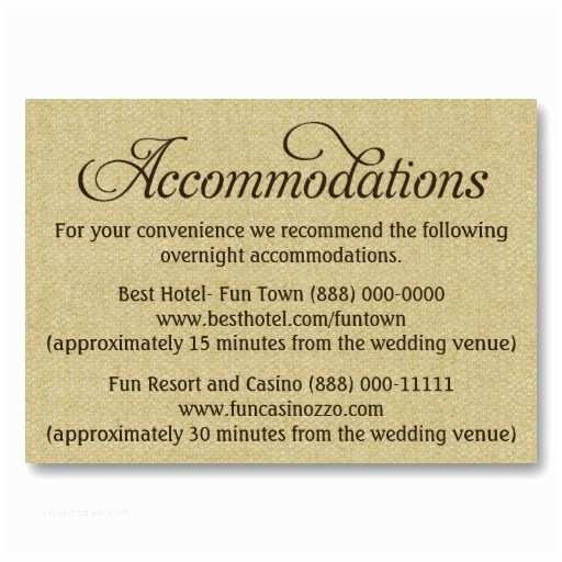 How to Word Hotel Accommodations for Wedding Invitations Wedding Ac Modations Cards