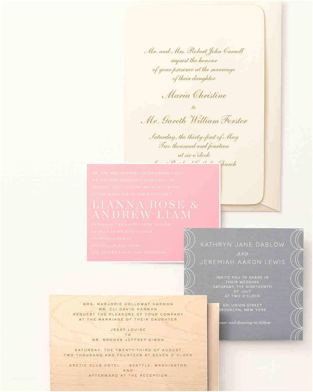How to Word Wedding Invitations 9 Host Line Scenarios to Make Wording Your Wedding