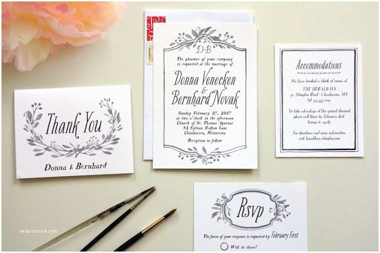 How to Write Time On Wedding Invitation How to Diy Wedding Invitations A Practical Wedding We Re