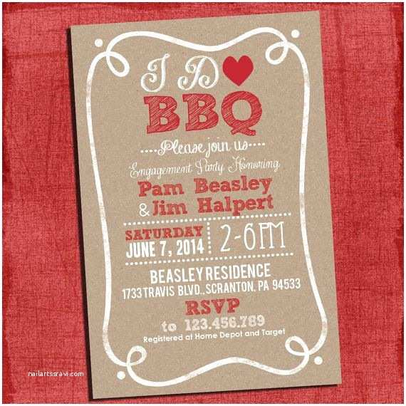 I Do Bbq Wedding Invitations 85 Best Bbq Couples Wedding Shower Images On Pinterest