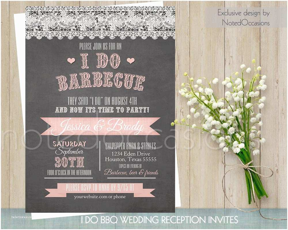 I Do Bbq Wedding Invitations I Do Bbq Wedding Invitation Printable Wedding Invitations Wood
