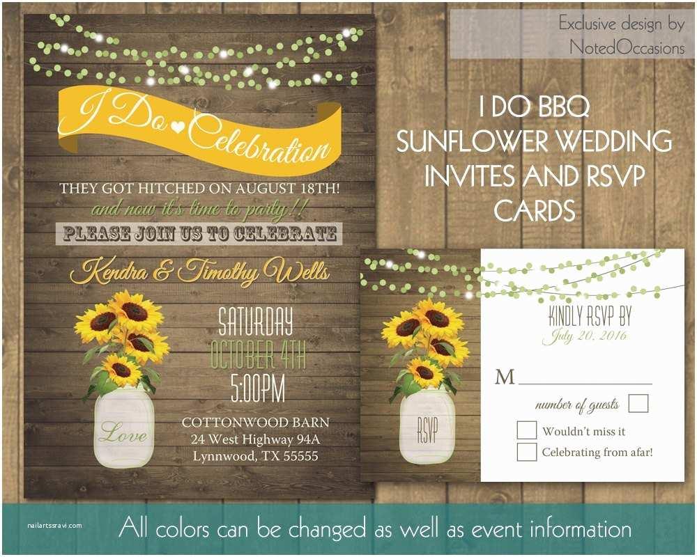 I Do Bbq Wedding Invitations I Do Bbq Wedding Reception Invitation Printable Wedding