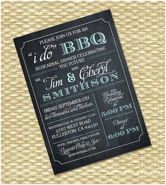 I Do Bbq Wedding Reception Invitations I Do Bbq Invitation Rehearsal Dinner Invite Couples Shower