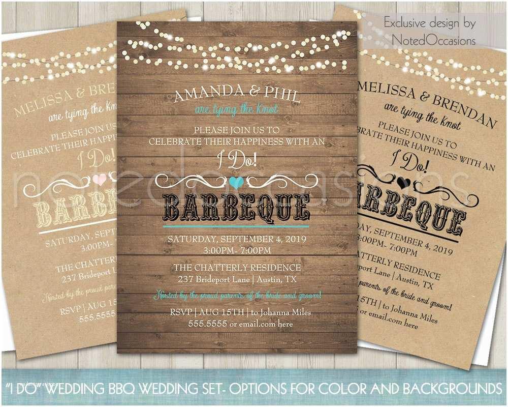 I Do Bbq Wedding Reception Invitations Printable I Do Bbq Wedding Reception Invitation Wedding