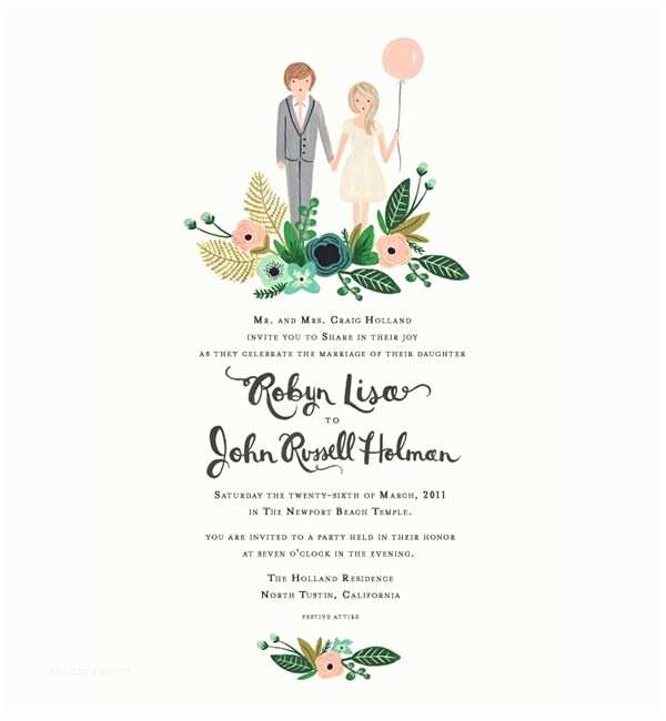 Illustrated Wedding Invitations Best 25 Illustrated Wedding Invitations Ideas On