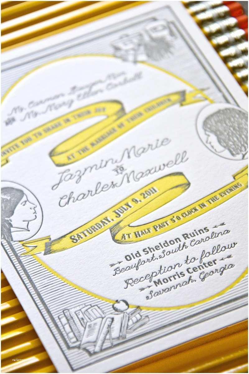Illustrated Wedding Invitations Best Of 2011 Illustrated Wedding Invitations