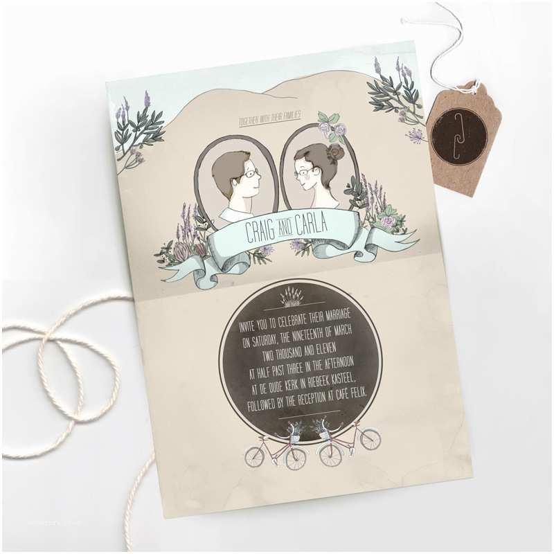 Illustrated Wedding Invitations Gotcha Covered Illustrated Wedding Stationery Inspiration