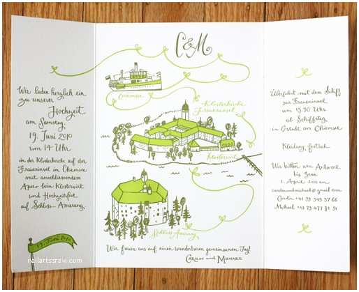 Illustrated Wedding Invitations Illustrated Invitations for A Wedding In Germany
