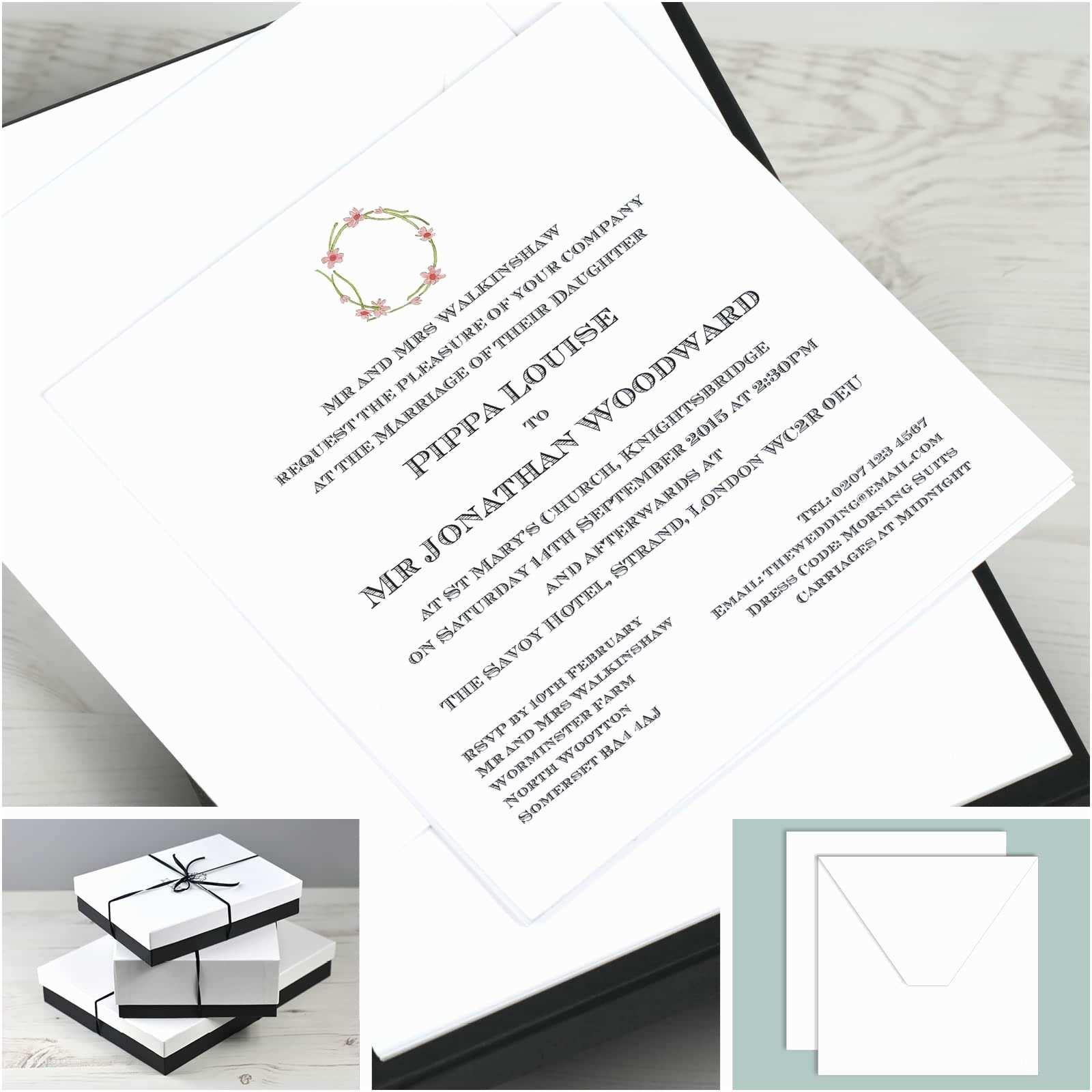 Illustrated Wedding Invitations Illustrated Wedding Invitations