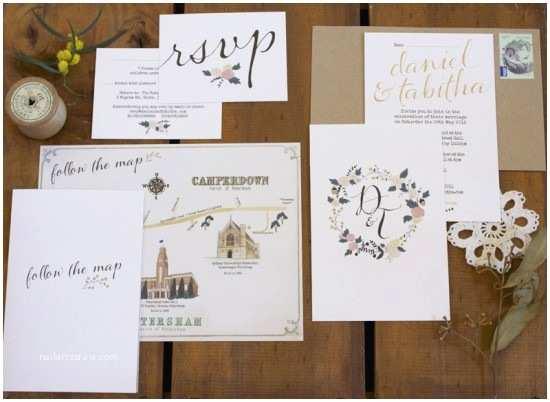 Illustrated Wedding Invitations Tabitha Daniel S Whimsical Illustrated Wedding Invitations