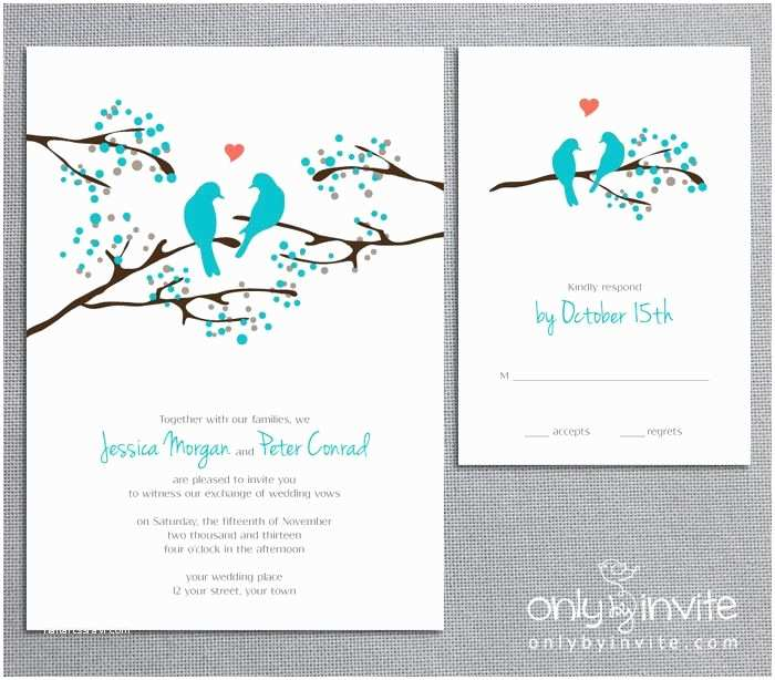 Impressive Wedding Invitations Bird Wedding Invitations Bird Wedding Invitations with