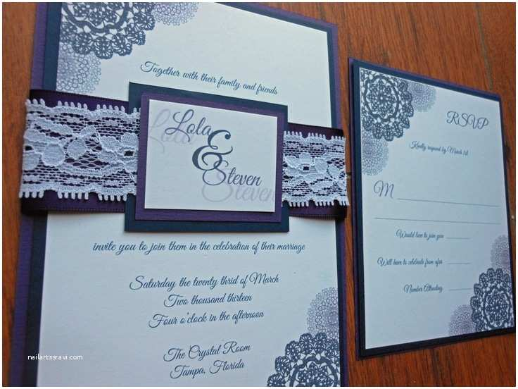 Impressive Wedding Invitations Breathtaking Navy Blue Wedding Invitations