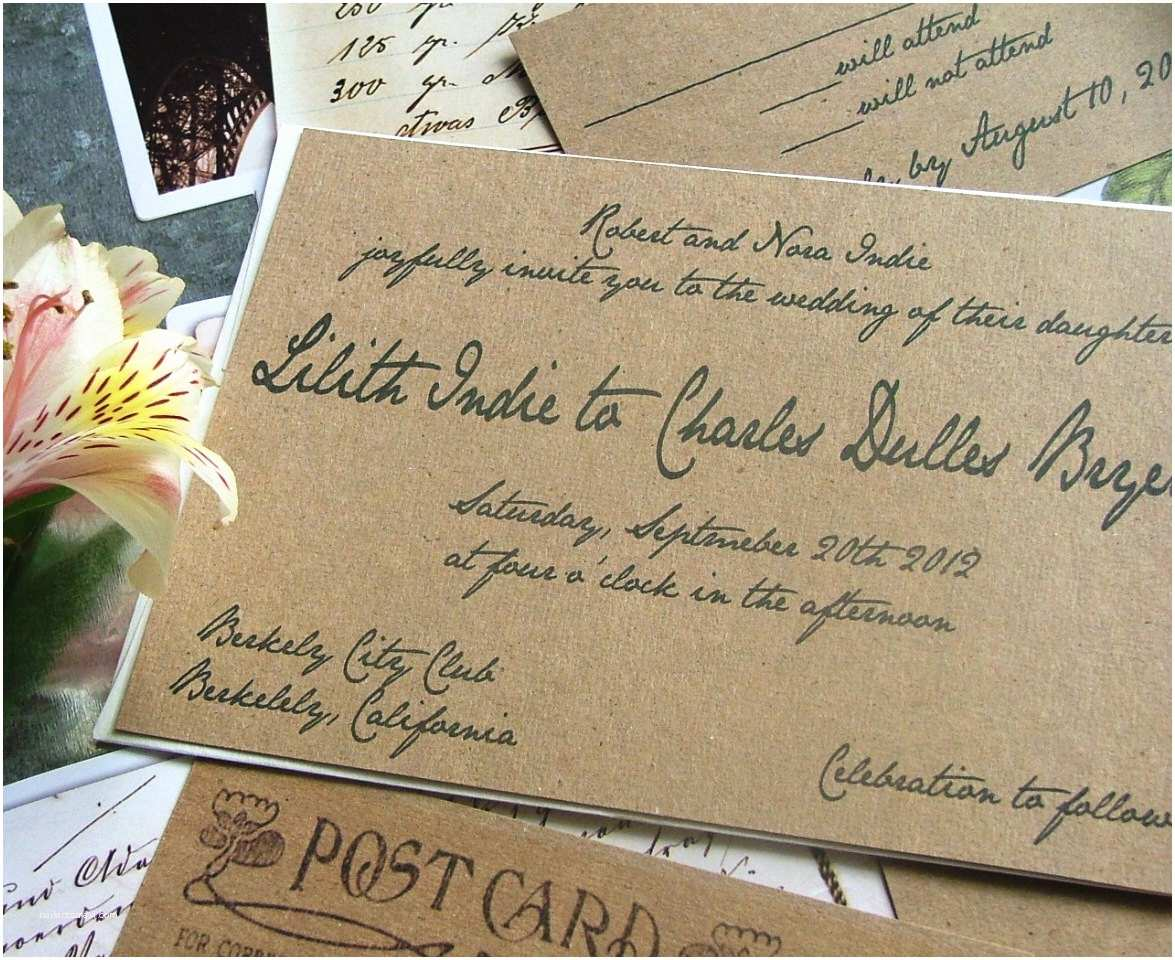 Impressive Wedding Invitations Impressive Handwritten Wedding Invitations