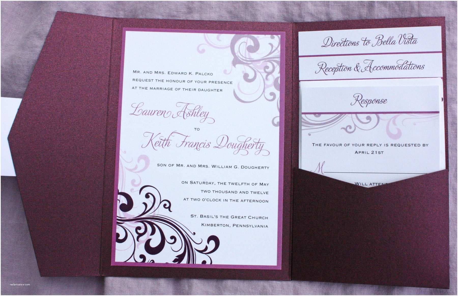 Impressive Wedding Invitations Impressive Wedding Invitation Folders
