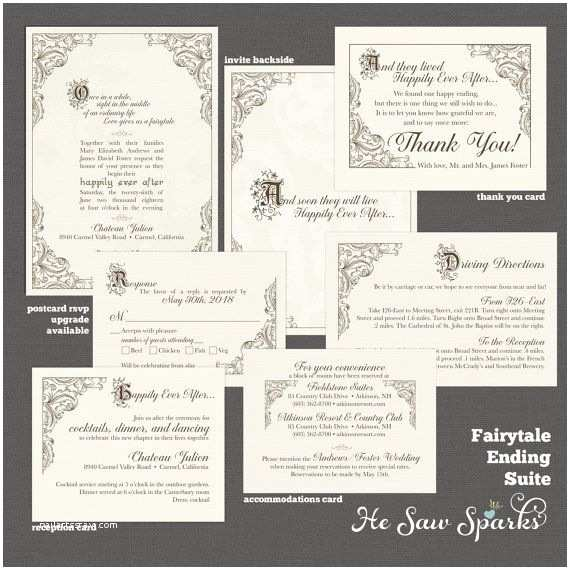 Impressive Wedding Invitations top Selection Fairy Tale Wedding Invitations