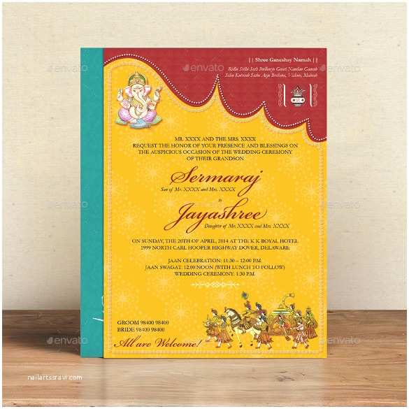 Indian Wedding Invitation Card Maker software Free Download 35 Traditional Wedding Invitations Psd