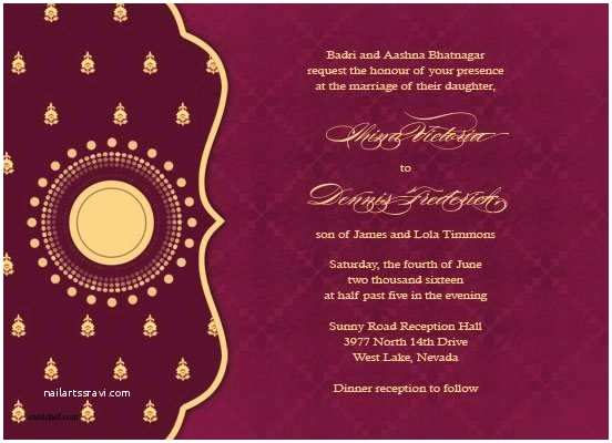 Indian Wedding Invitation Card Maker software Free Download Indian Wedding Invitation Card Ideas Wedding Invitation