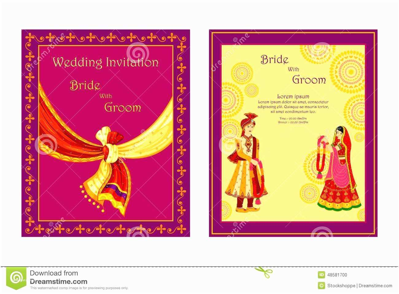 Indian Wedding Invitation Card Maker software Free Download Wedding Baraat Clipart 7
