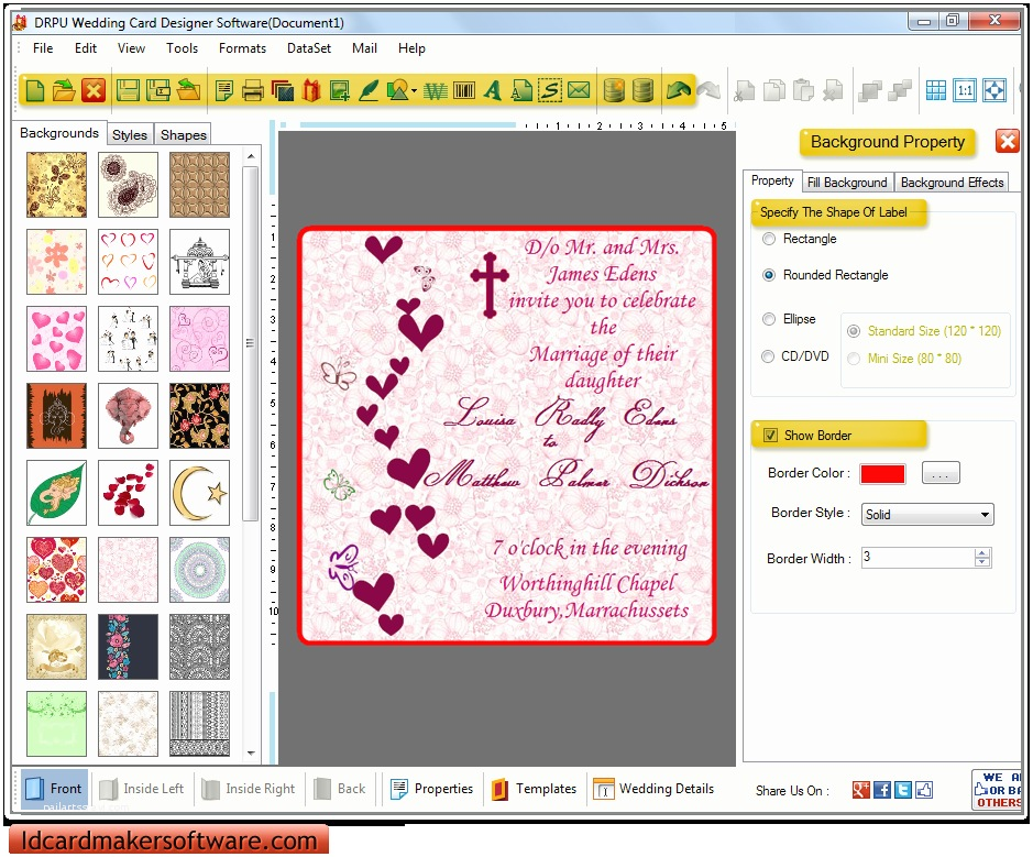 Indian Wedding Invitation Card Maker software Free Download Wedding Invitation Wording Wedding Invitation Maker software